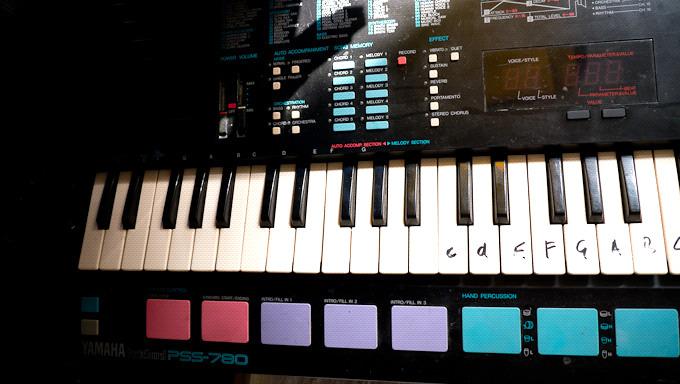 Yamaha Pss Portasound Made