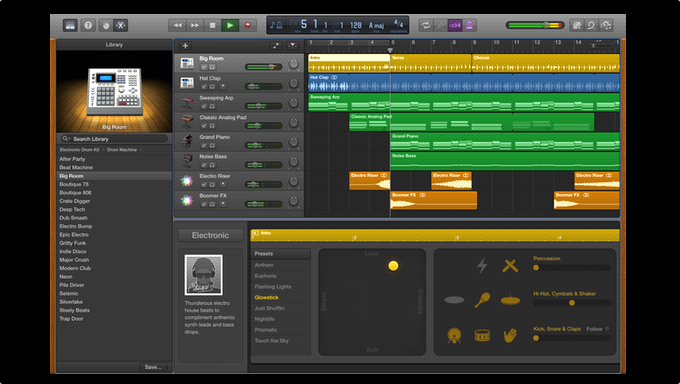 KitMonsters – GarageBand 10 1 - new features  The music